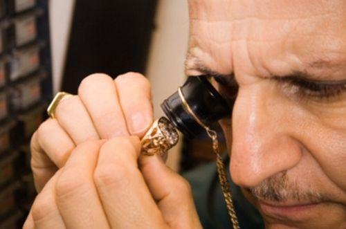 Проверка золота на глаз