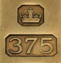 Золото 375 пробы