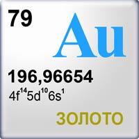 химический элемент au