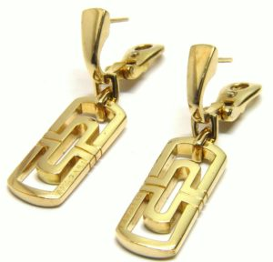 Серьги из золота 750 пробы
