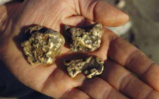Где сейчас можно найти золото: как искать в земле с металлоискателем?